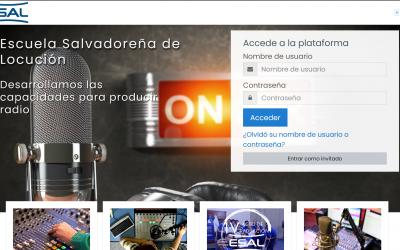 Aula Virtual de la Escuela Salvadoreña de Locución (ESAL)