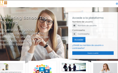 Aula Virtual Marketing Schooll Top Training